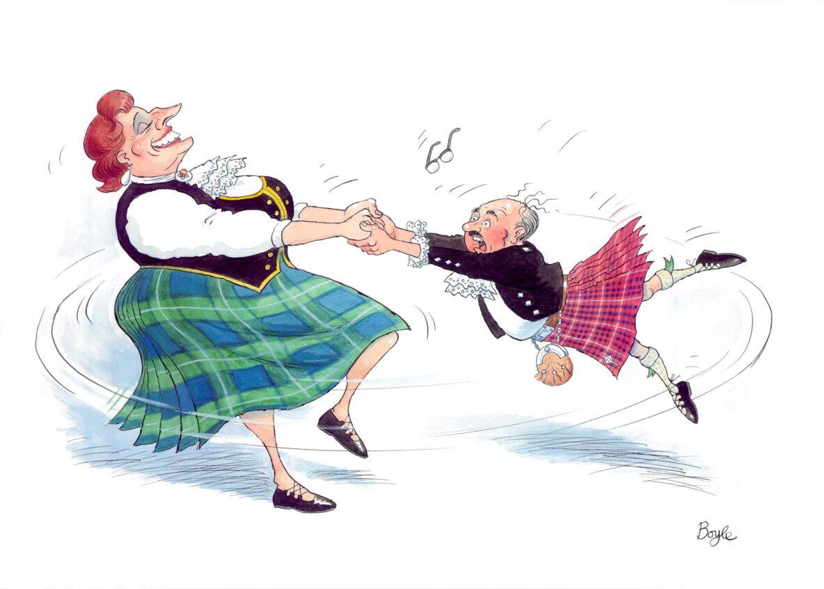 Frank Boyle: Highland Fliiing