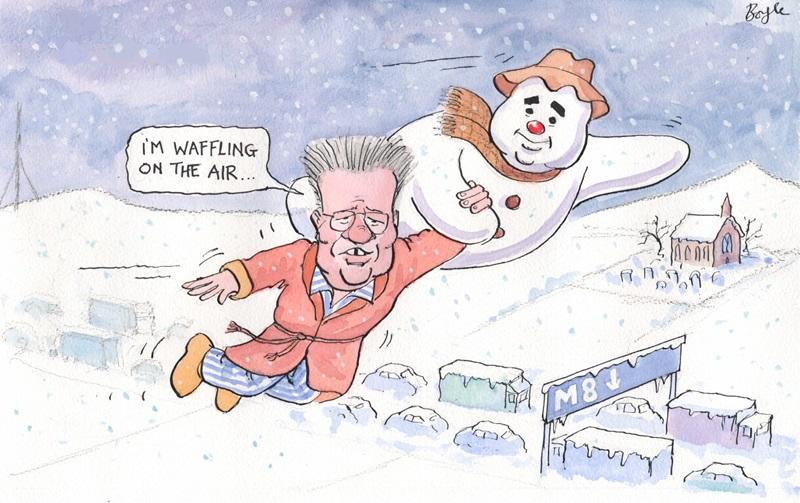 Frank Boyle Snowman