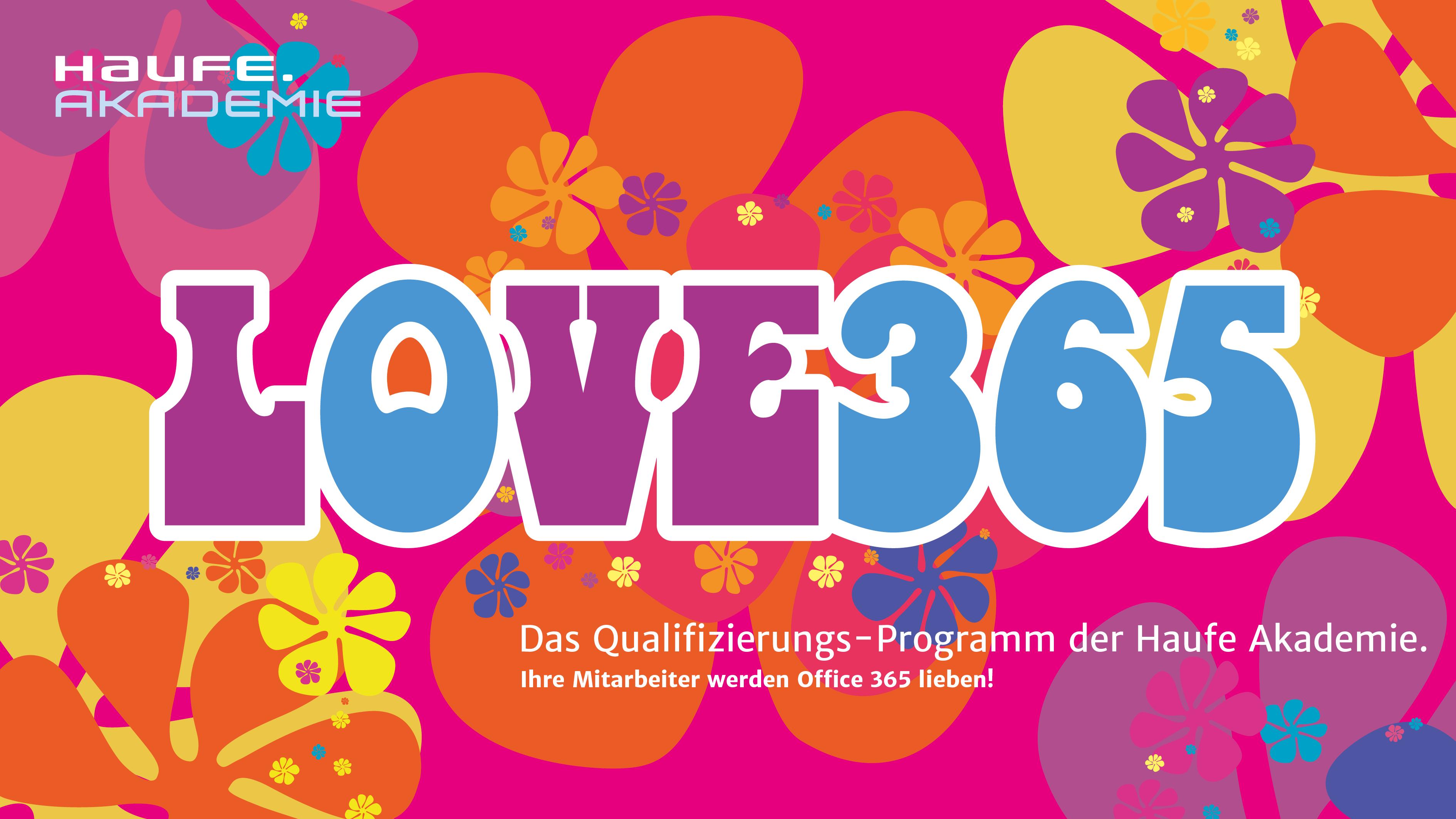 Haufe-Akademie - Love365-Key Visual