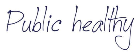 Public healthy