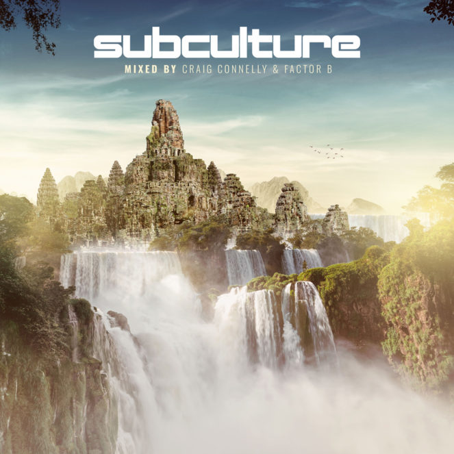 Various Artists presents Subculture mixed by Craig Connelly and Factor B on Black Hole Recordings