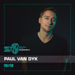 Paul van Dyk at GEM Fest, Zakynthos, Greece on 9th of August 2020