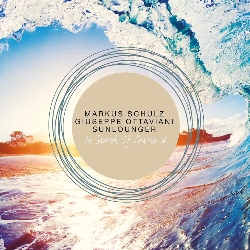 Various Artists presents In Search Of Sunrise 16 mixed by Markus Schulz, Giuseppe Ottaviani and Sunlounger on Black Hole Recordings
