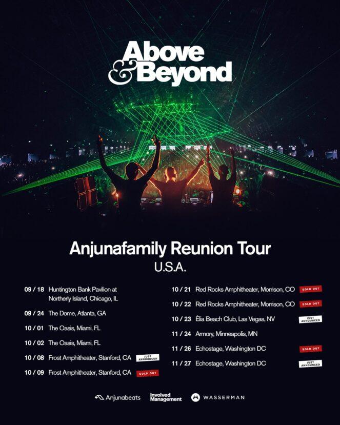 Anjunafamily Reunion Tour USA 2021
