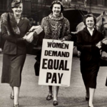 women workplace protest