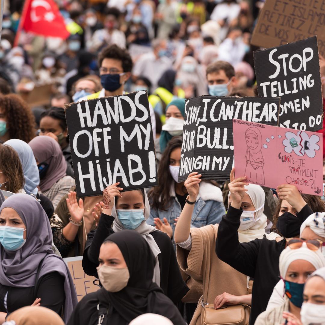 hands off my hijab
