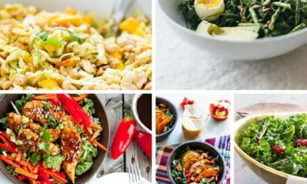 20+ COLORFUL WINTER SALADS TO EAT RIGHT NOW