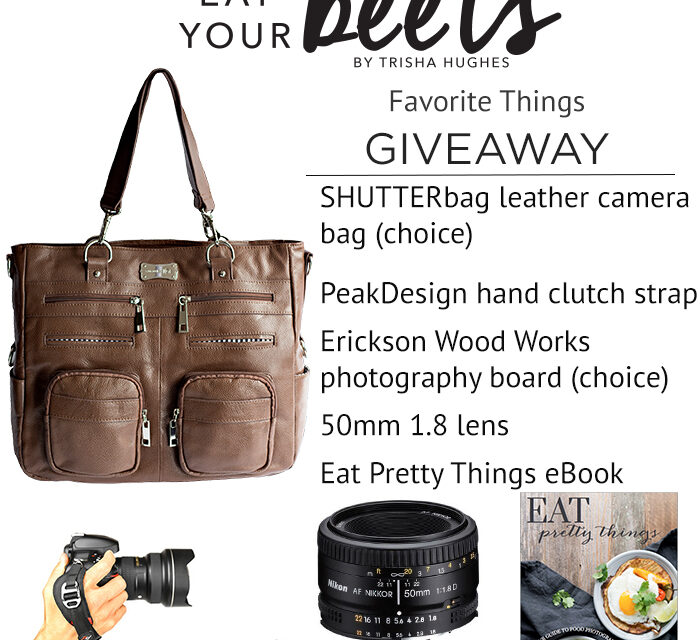 CLOSED – CONGRATS STACIE BOZER – EAT YOUR BEETS FAVORITE THINGS GIVEAWAY!