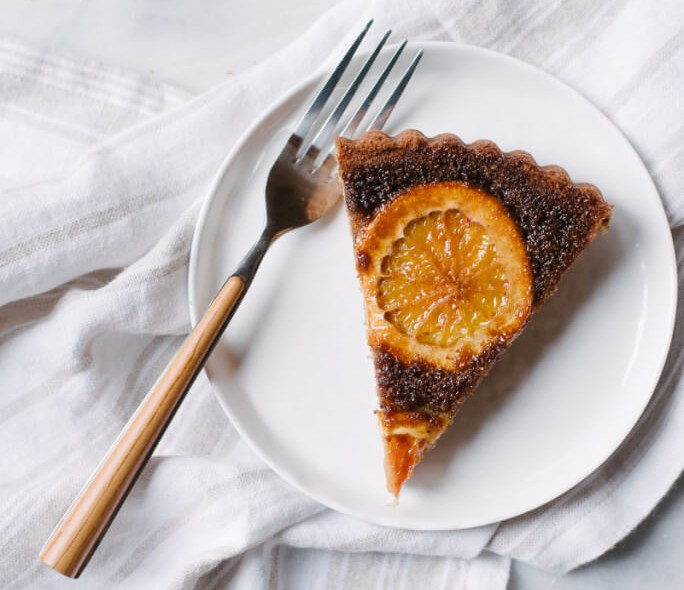 GLUTEN FREE OLIVE OIL AND BLOOD ORANGE CAKE