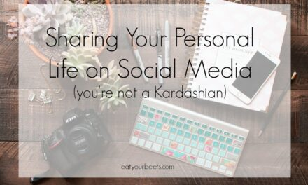SHARING YOUR PERSONAL LIFE ON SOCIAL MEDIA – YOU'RE NOT A KARDASHIAN