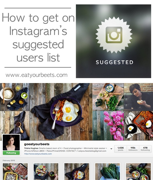 HOW TO GET ON INSTAGRAM'S SUGGESTED USER LIST
