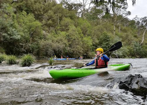 Whitewater Kayaking & Abseiling Tour