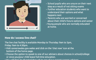 Careers Wales Live Chat