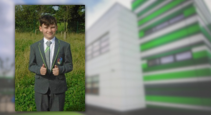 Return to school has been very different at Connah's Quay High School