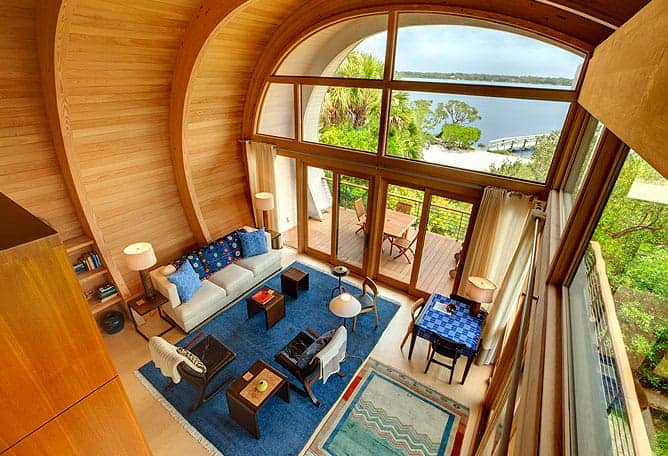 Living in a tiny house