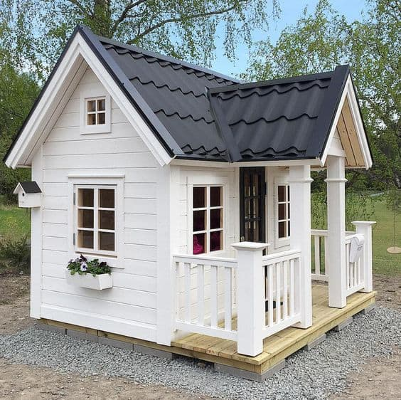 tiny house with kids