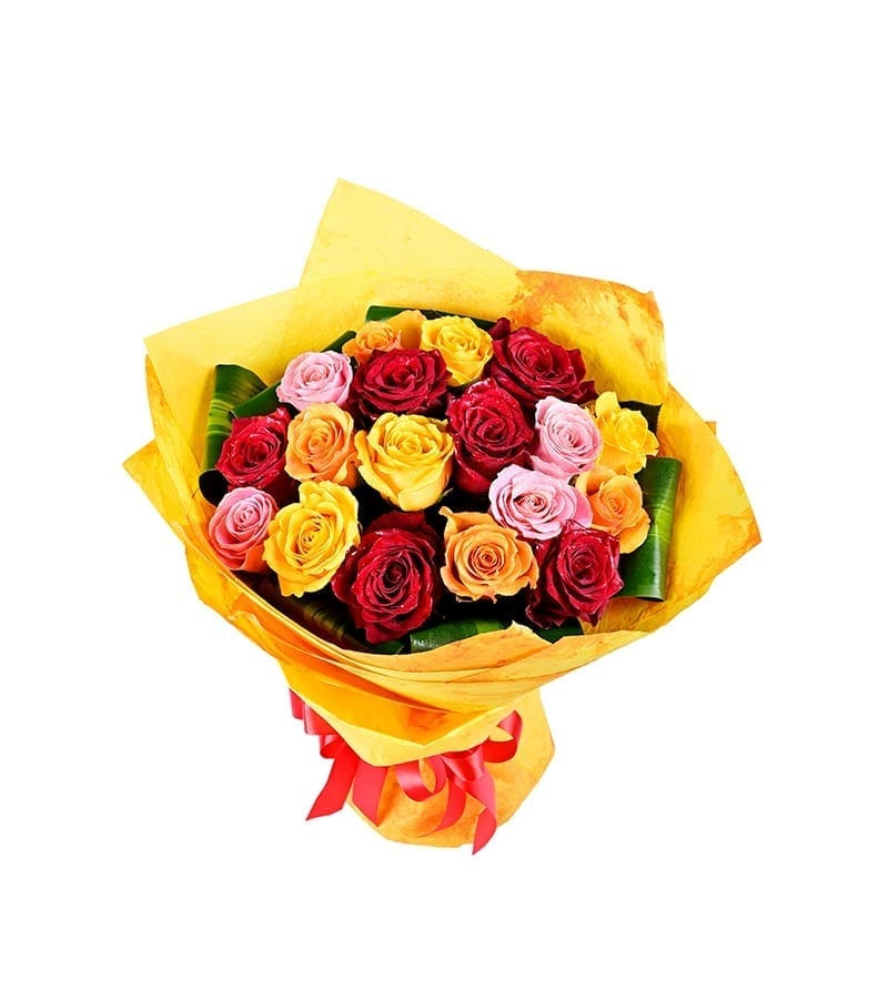 Classic Rose Flower Bouquet Delivery to dubai
