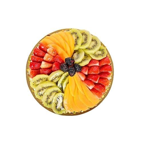Fresh Mix Fruit Cake for anniversary