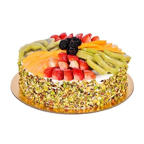 Fresh Mix Fruit Cake for anniversary
