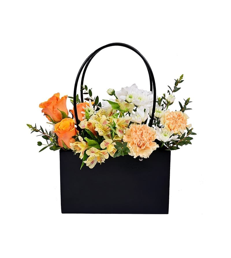 Flowers in Bag