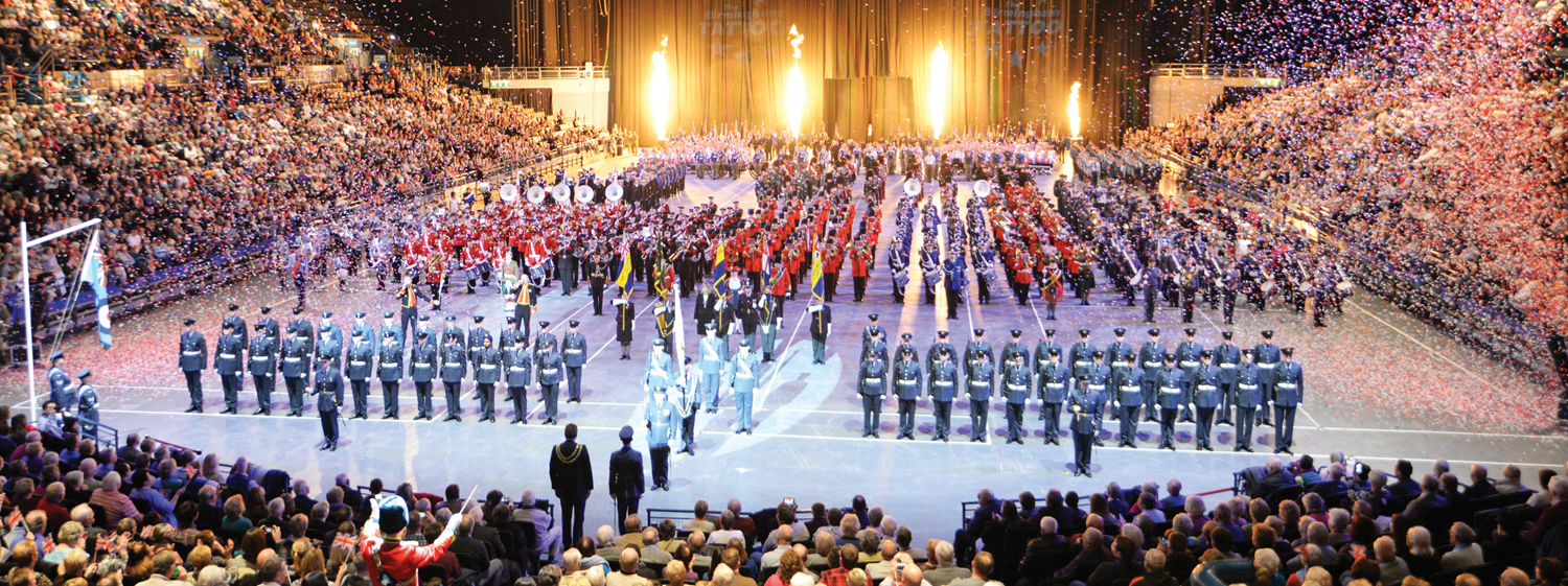 Experience the Pomp and Pageantry of Britain's Biggest Indoor Tattoo
