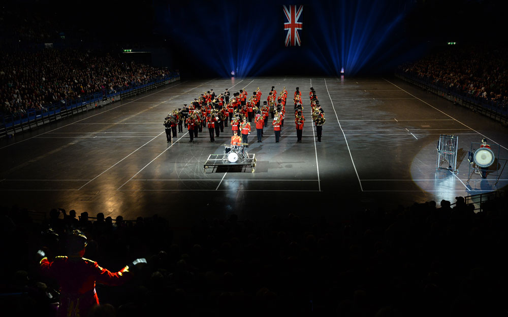 2018 Birmingham International Tattoo British Army Reserves Band