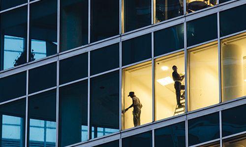 overnight workmen