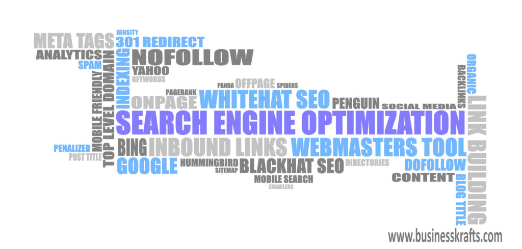 SEO Terminology by BusinessKrafts