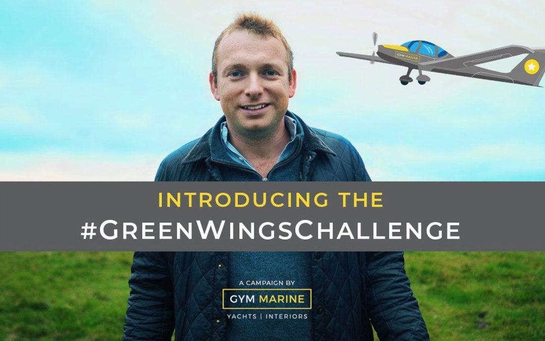 Gym Marine launches #GreenWingsChallenge