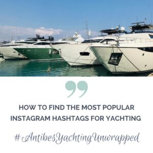 instagram hashtags yachting