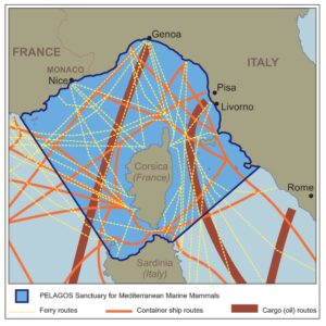shipping routes mediterranean