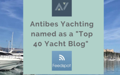"Antibes Yachting selected as ""Top 40 Yacht Blog of 2020"""