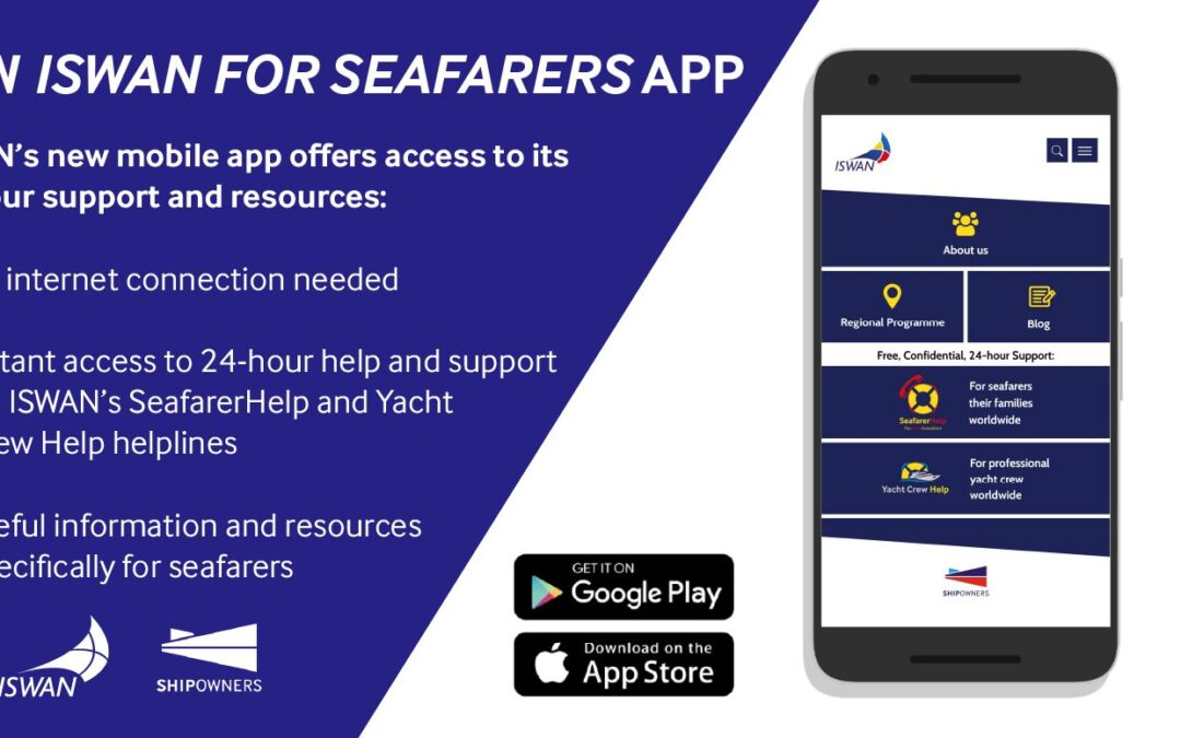 ISWAN for Seafarers app launched
