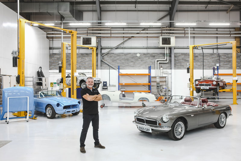 Work on New Classic Electric Car to Start in New Year | RBW Electric Cars