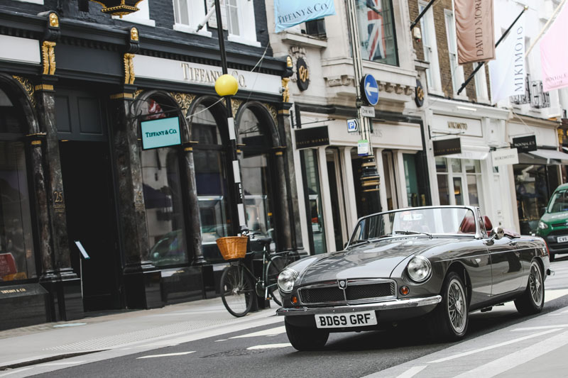 British firm RBW launches an electric version of the classic MGB Roadster