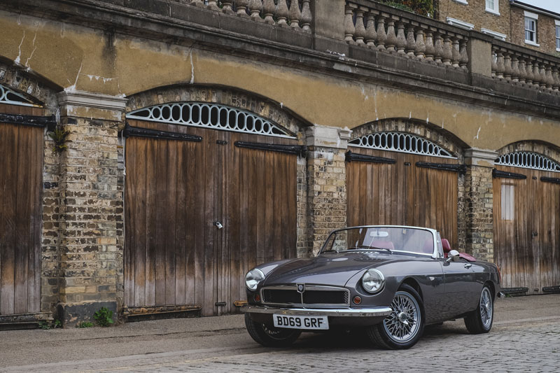 Electric Classic Roadster by RBW EV Classic Cars | Mike Brewer Motoring
