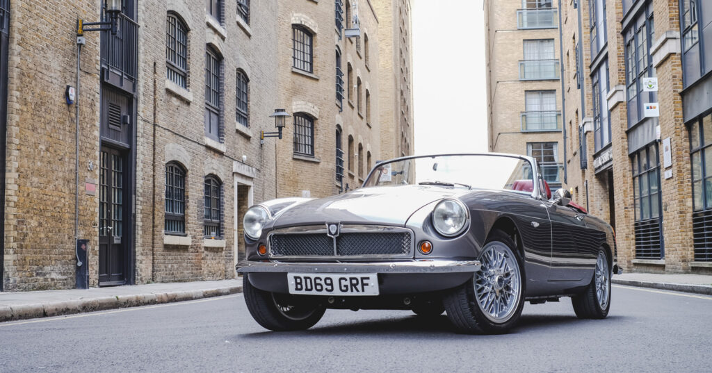 Electric MG: classic MGB given EV conversion   RBE Classic Electric Cars