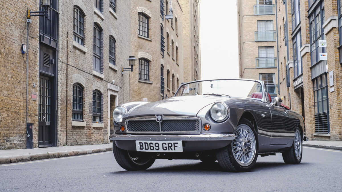 Electric MG: classic MGB given EV conversion | RBE Classic Electric Cars