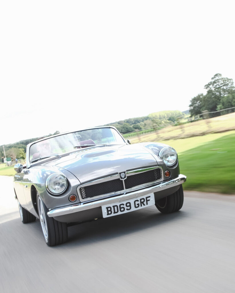Classic British Roadster Hides An Electric Secret   RBW Classic Cars