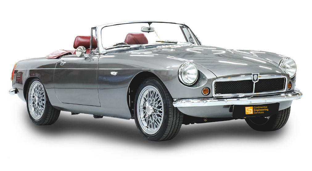 British Firm Revives a Classic MG Roadster with Electric Power