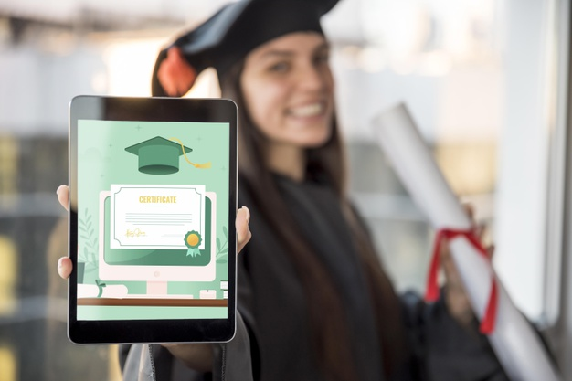 young-woman-receiving-her-diploma-tablet_23-2148617703