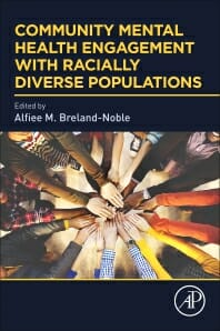 "Cover of book titled ""Community Mental Health Engagement with Racially Diverse Populations"""