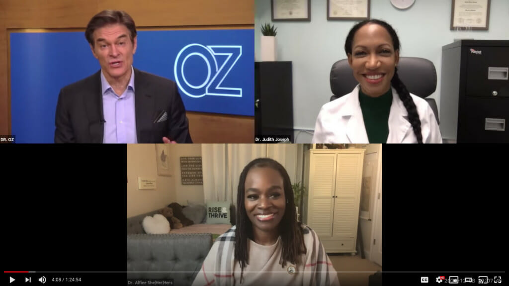 Dr. Oz Presents More Black Doctors