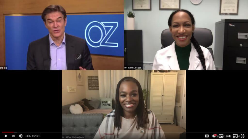 Dr. Oz Presents More Black Doctors