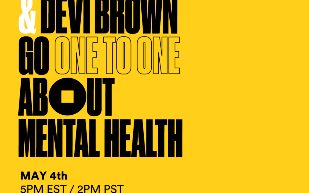 Charlamagne Tha God & Devi Brown Talk Mental Health 1:2:1 with AAKOMA's Dr. Alfiee