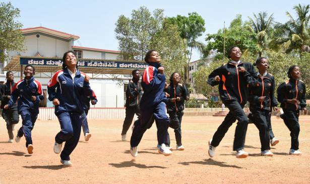 Siddi athletes during SAG
