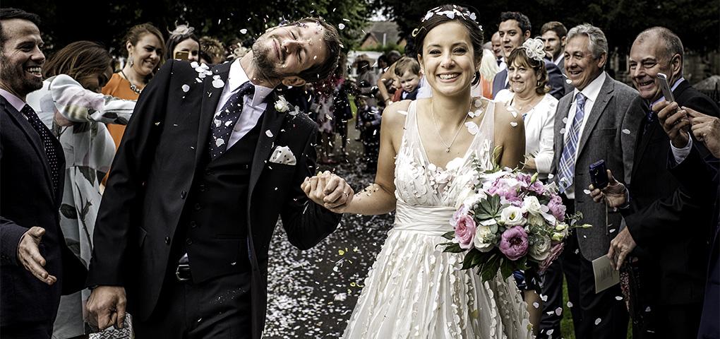 Church wedding in Derbyshire