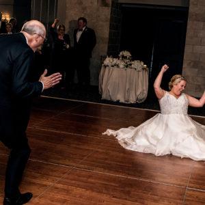 bride and father of the bride dance hotel zaza houston