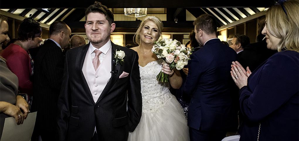 wedding ceremony at morley hayes