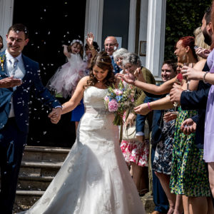 confetti at shottle hall